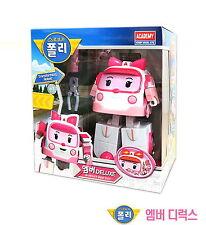 Robocar poli AMBER DELUXE Transformer/ Transforming Robot Toy /Diecast/ Academy