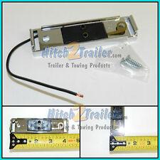 1 CHROME Snap in light bracket for 1x4 light Plastic self grounding LED trailer