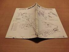 Ersatzteilliste Bedienung Dolmar 104 Motorsäge Kettensäge Chain Saw Parts List