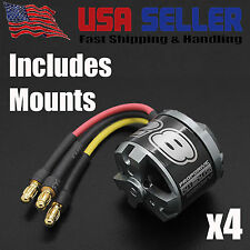 4x NTM Prop Drive 28-26 1000KV Brushless Quadcopter Motor 235W with Prop Adapter