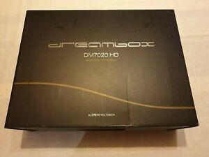 Dreambox DM7020HD mit 2 Kabel Tuner, 2 TB Festplatte, mit OVP