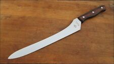 NICE Vintage Gold 3 Japanese Chef's XL Flexible Offset Slicing Knife w/Rosewood