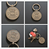 50 Years Perpetual Calendar Key Ring Year Month Day Display KeyChain Keyring New