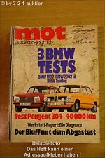 MOT 12/71 BMW 02 Touring Fiat Coupe VW Opel Manta