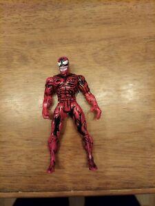 """MARVEL MAXIMUM CARNAGE TOY BIZ ACTION FIGURE 1994 Spider-Man Red Venom 5"""""""