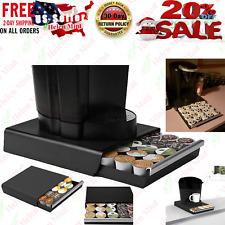 K Cup Holder Coffee Pod Storage Drawer Dispenser Stand Organizer Rack
