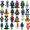 Original Ninja TOYS Jay Cole Kai Pythor Lloyd Action Mini figures Fits 24pcs New