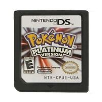 Pokemon Platinum Diamond Pearl Game Cards Nintendo 3DS NDSI NDS Lite d F01