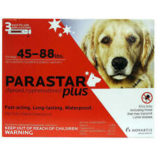 Parastar Plus, 45-88 lbs, 3 Month (Red)