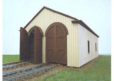 Branchline Trains 657 HO Scale 2-Stall Wood Engine House