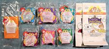 1997 McDonald's Happy Meal Toys  - PETER PAN -  Complete MINT Set (7) + 2 Bags
