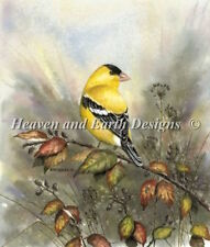 10% Off Heaven & Earth Designs Counted X-stitch chart - Back Yard Gold