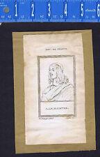 King Adolphus of Sweden & Antoine Le Maistre - 1809 Copper Plate Portrait Prints