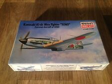 "MINICRAFT,IMMA 1/144 SCALE MODEL AIRCRAFT KAWASAKI KI-61 HIEN FIGHTER""TONY"" WWII"