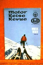 Motor + Fahrer Reise Revue 10/68 VW 1600 EL Variant Automatic