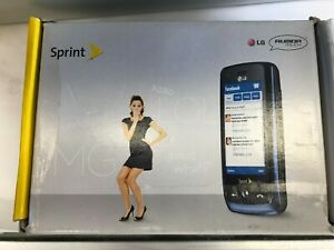 LG Rumor Touch LN510 - Red-Blue-Purple (Sprint) Cellular Phone BRAND NEW IN BOX