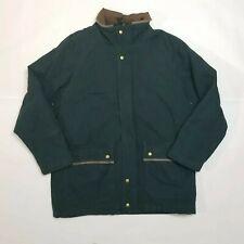 Woolrich Deep Hunter Men's Large Green Outdoor Hunting Coat Jacket