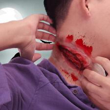 Halloween Scars Tattoos Fake Blood Scab Scar Wound Costume Make-Up Sticker HZ