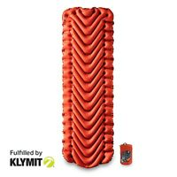 Klymit Insulated Static V Lightweight Sleeping Camping Pad - Certified Refurbish