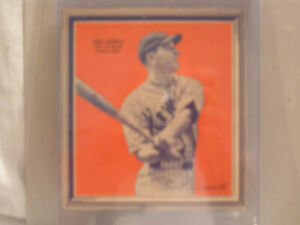 1936 EARL AVERILL OF CLEVELAND INDIANS FROM WHEATIES CEREAL BOX