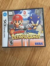 Mario & Sonic at the Olympic Games (Nintendo DS, 2008) Cib Complete NG3