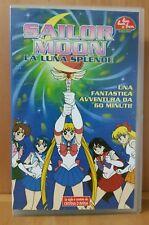 Cristina D'Avena Sailor Moon la luna splende bim bum bam vhs ottime condizioni