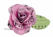 Scrappy Do Rose Musical Paper Embellishment Extra Large Sweet Pink - Pack of 1