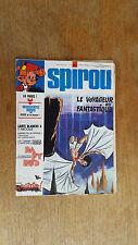 SPIROU N°1878 / DU 11 AVRIL 1974 / AVEC SUPPLEMENT BOSSE / B+.