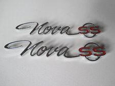 65 CHEV NOVA SS REAR GUARD BADGES 1965 CHEVROLET QUARTER CHEVY