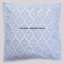 Indian Abstract Design Cushion Cover Ethnic Cotton Vegetable Dyes Throw Decor