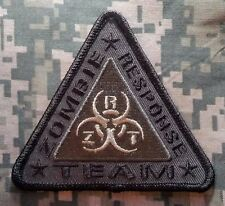 ZOMBIE RESPONSE ZRT HUNTER OUTBREAK BIOHAZARD ACU DARK iron on ® PATCH
