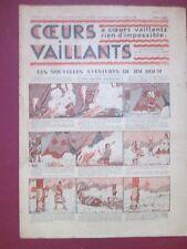 COEURS VAILLANTS N°9 du 3 MARS 1935 HERGE TINTIN EN ORIENT TBE