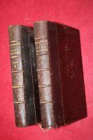 ROME ET LA JUDEE par Cte DE CHAMPAGNY éd BRAY et RETAUX  1876  2 VOLUMES