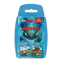 Top Trumps Dragons (Incl. Dreamworks How To Train Your Dragon The Hidden World)