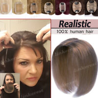 Clip In Women Topper for Loss Hair Human Hair Extensions Hair Piece Toupee W687