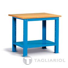 BANCO LAVORO PER OFFICINA 1024x750x880 PIANO LEGNO MIAL IDEAONE 05 040 BLU