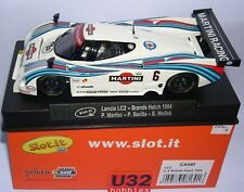 Slot.it LANCIA Lc2-84 Brands Hatch 1000km 1984 No.6 Sica08f