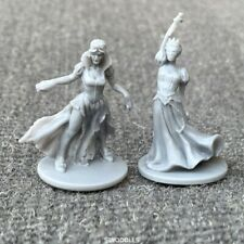 2x Dungeons & Dragon D&D Marvelous Miniatures War game figures Female Heroes toy