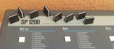 (8) Brand New/NOS Slider Caps For E-mu SP1200 SP-12 Emulator - Full Set - MINT!
