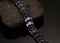 Titanium Magnetic Therapy Bracelet Pain Relief Balance Energy Arthritis Joint