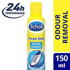 Scholl Fresh Step Shoe Spray Foot Odour Protection Deodorant Scholl Fresh Spray