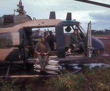 "UH-1P Huey Helicopter Green Hornets armed and ready 8""x 10"" Vietnam War Photo 93"