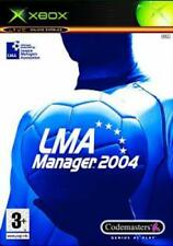LMA Manager 2004 (Xbox) VideoGames