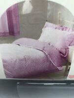 NEW NEXT JUNIOR Duvet And Pillow Case Set Lilac Purple White Polka Dot 150X120cm