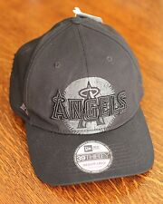 Oakley Los Angeles Anaheim Angels Black Baseball Hat Cap Men's Size M/L - NEW!