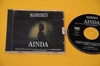 CD (NO LP ) MADREDEUS AINDA-LISBON STORY 1°ST ORIG 1995 CON LIBRETTO