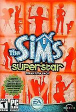 The Sims: Superstar Expansion Pack EA CD-ROM PC 2003 CD Game Software FREE SHIP