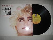 Madonna - Who's that girl Vinyl LP Soundtrack