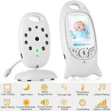 2.4GHz Digital LCD Color Baby Monitor 2-way Talk Audio Video Night Vision Camera
