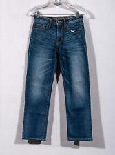 American Eagle Extreme Flex Light Tinted Wash Original Straight Jeans Sz 26 x 28